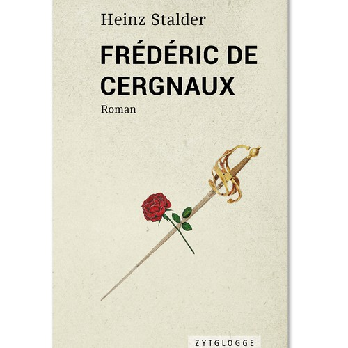 Minimal design with the title 'Frédéric de Cergnaux'