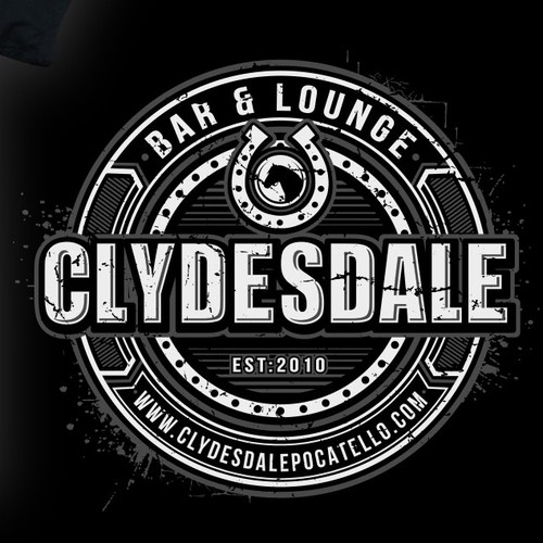 Horse t-shirt with the title 'clydesdale design'