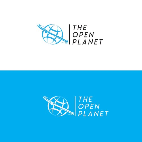 Switch design with the title 'The Open Planet'