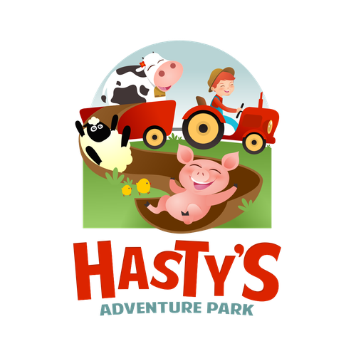 Park logo with the title 'Hasty's'