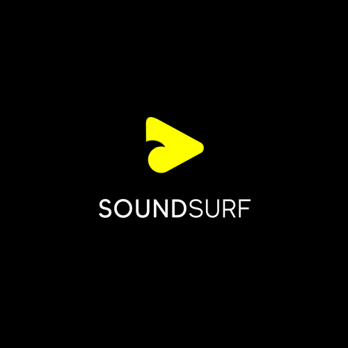 Sound wave design with the title 'SoundSurf'