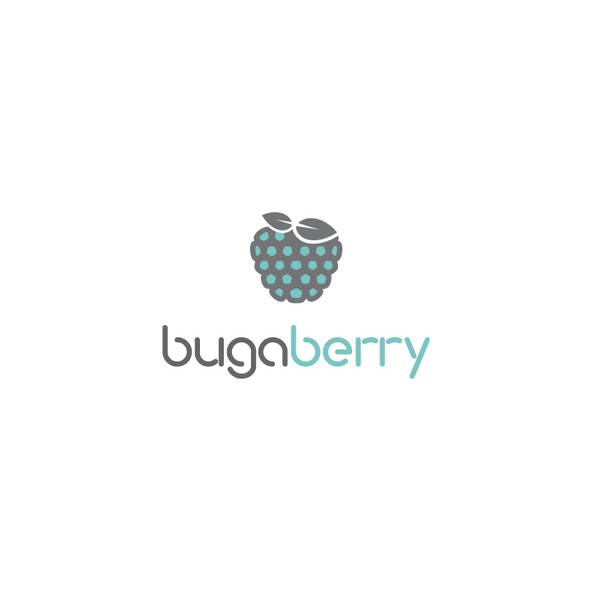 Raspberry logo with the title 'organic logo for diaper bag '