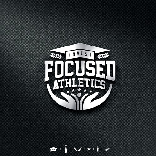 Athletic brand with the title 'FOCUSED ATHLETICS'