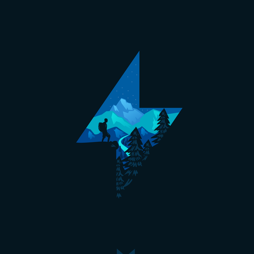 Backpacker logo with the title 'Knowledge from Storms'