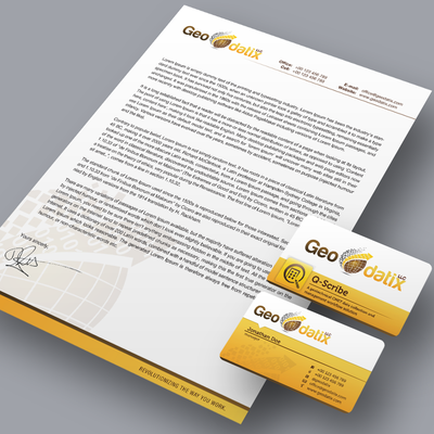 business card & letterhead
