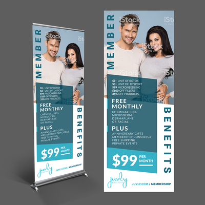 Popup Banner for Juvly