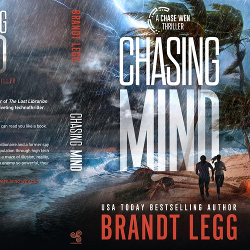 Action design with the title 'Chasing Mind'