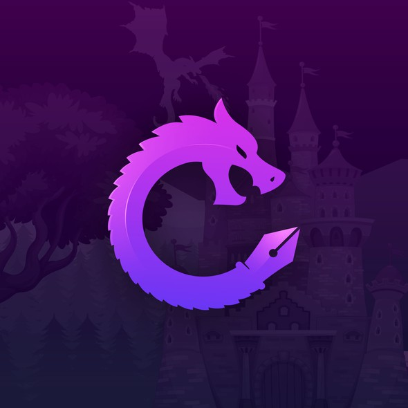 Copywriter logo with the title 'DragonPen'