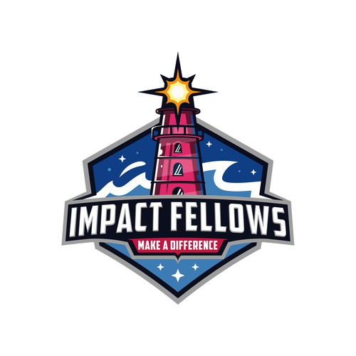 Impactful logo with the title 'Impact Fellows'