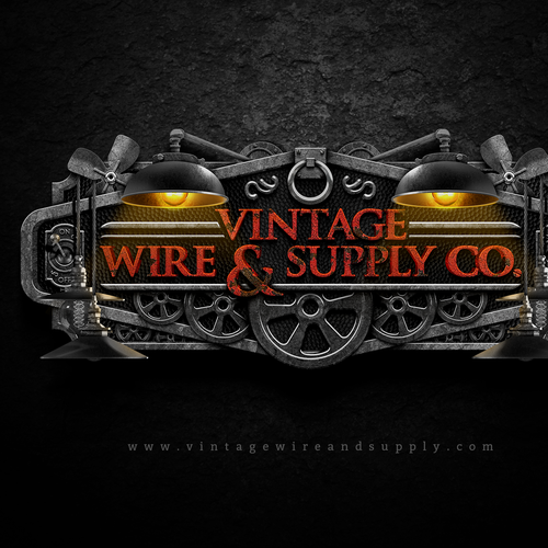 Supply logo with the title 'Vintage Wire & Supply Co.'