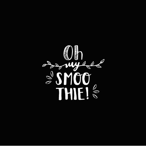Smoothie logo with the title 'Oh My Smoothie!'