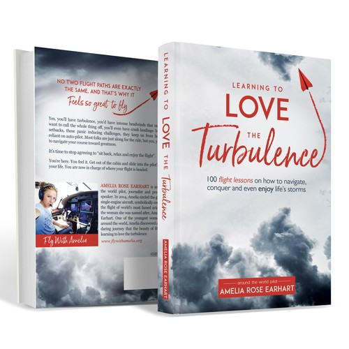 Fly design with the title 'learning to love the Turbulence'