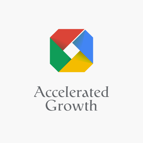 Advertising logo with the title 'A logo for the Google sales team.'