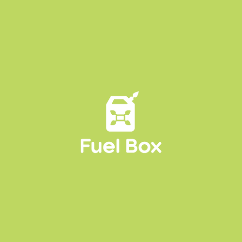 Can design with the title 'Fuel Box Logo'