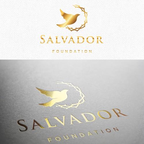Peace design with the title 'Non- profit catholic logo'