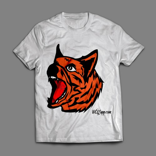 Wild t-shirt with the title 'tiger'