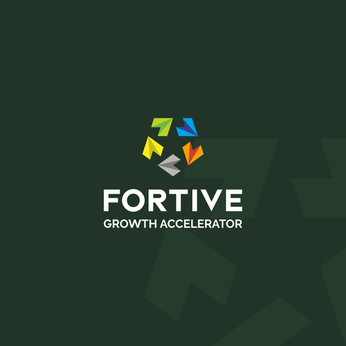 Motivational logo with the title 'Inspirational logo for Fortive Growth Accelerator'