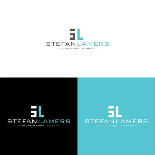 Personal training logo with the title 'Stefan Lamers - online personal coach'