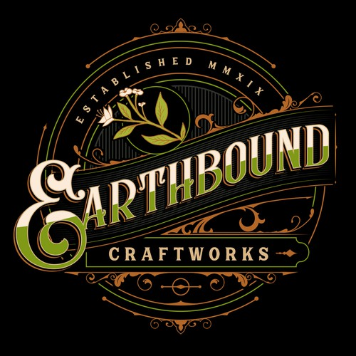 Gatsby logo with the title 'Earthbound Craftworks'