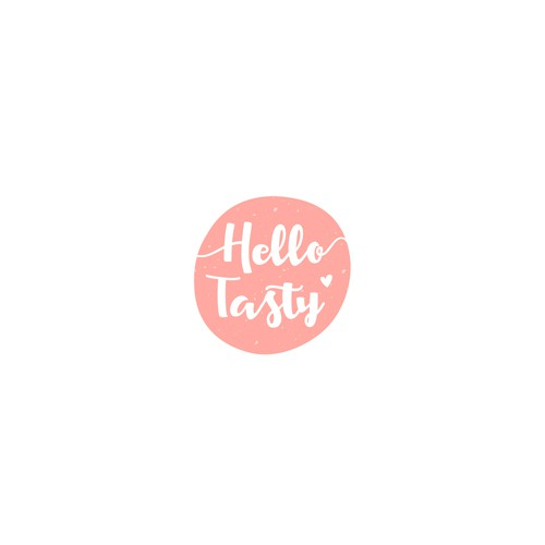 Hello logo with the title 'Logo for Online shop for high-quality sweets, coffee, tea, drinks etc.'