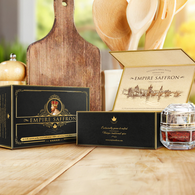 Luxury spice, packaging design