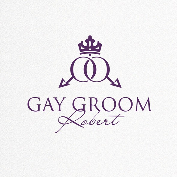 Pet grooming logo with the title 'Wedding Planner Logo'