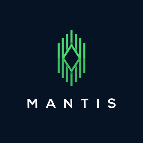 High-tech logo with the title 'Mantis'