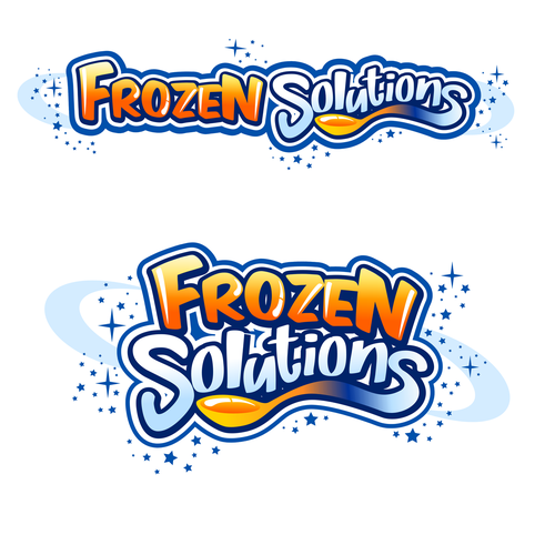 Hot design with the title 'Frozen Solutions'