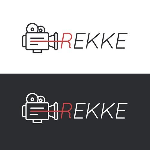 Cinema brand with the title 'Logo Design'