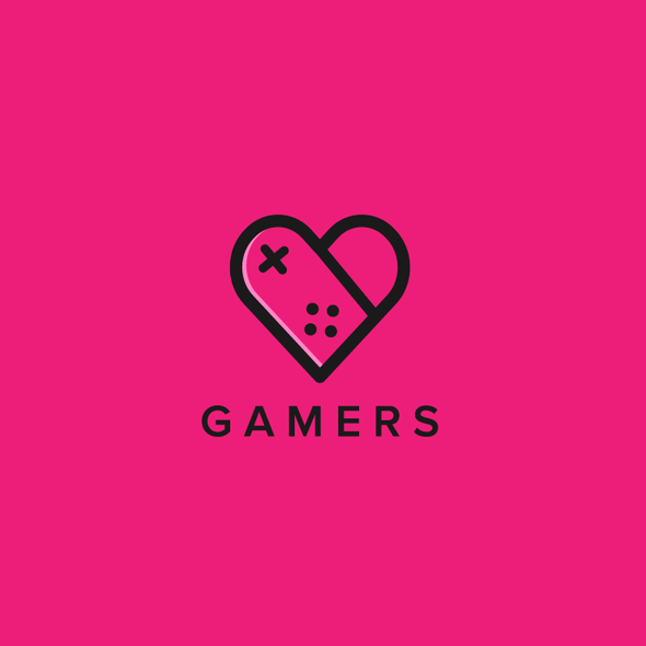 Gamer design with the title 'Gamers'