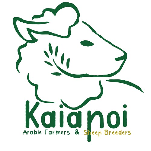 Farmer logo with the title 'Kaiapoi Logo Design'