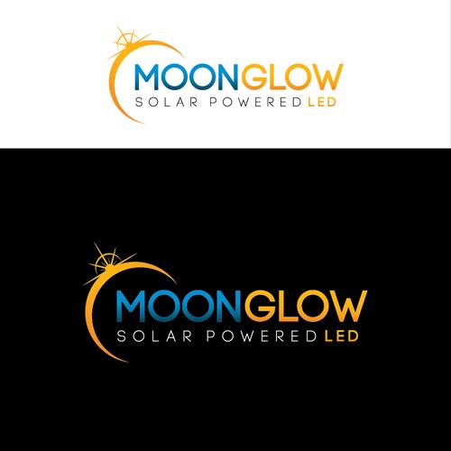 Illumination logo with the title 'Moon Glow LED sub Logo for SolarLight'