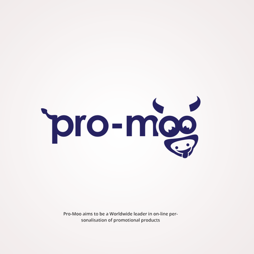 Moo logo with the title 'Promoo'