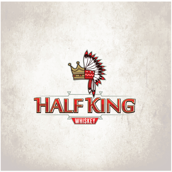 Indie logo with the title 'Half King'