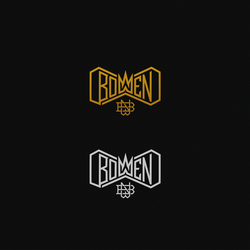 Hand-lettered logo with the title 'Bowen Logo'
