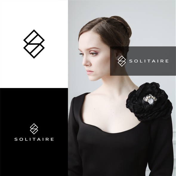 High-end brand with the title 'diamond + letter S'