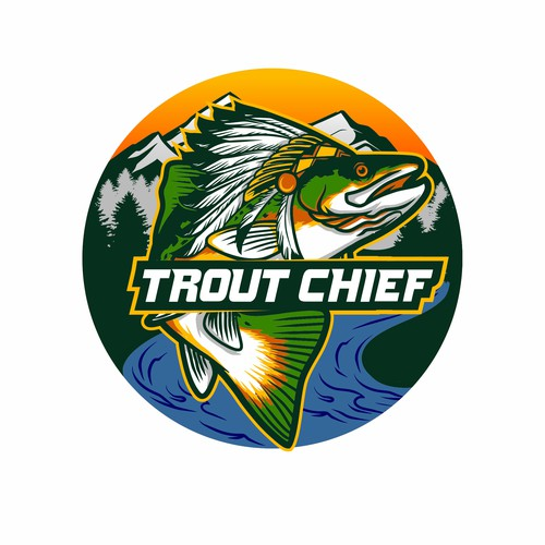 Chief logo with the title 'Trout Chief'