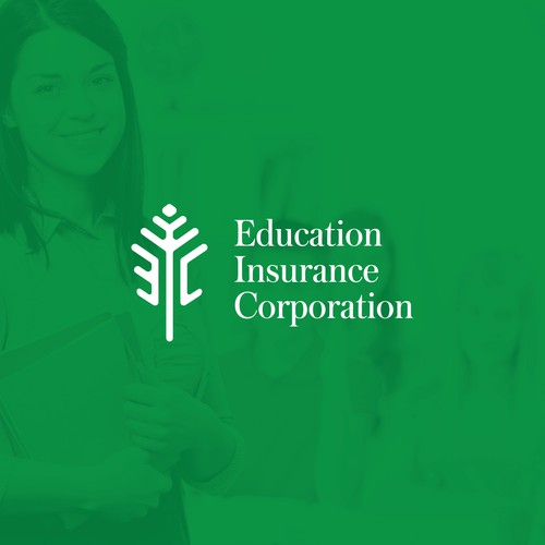 Insurance logo with the title 'Education Logo'