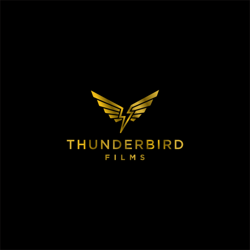 Thunder logo with the title 'thunderbird films'