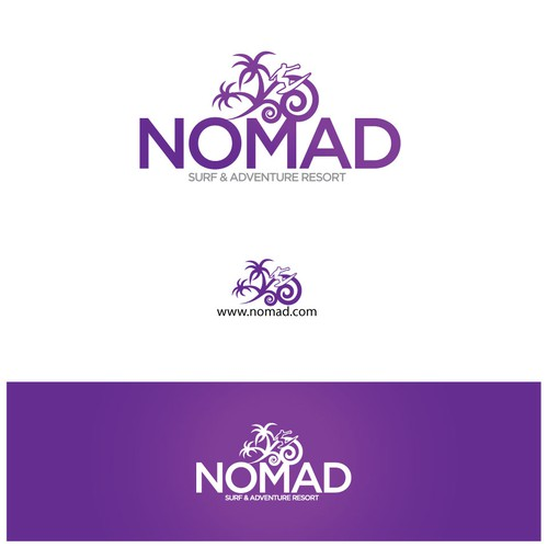 Nomad logo with the title 'NOMAD'