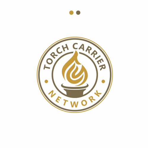 Blaze logo with the title 'Torch Carrier network'