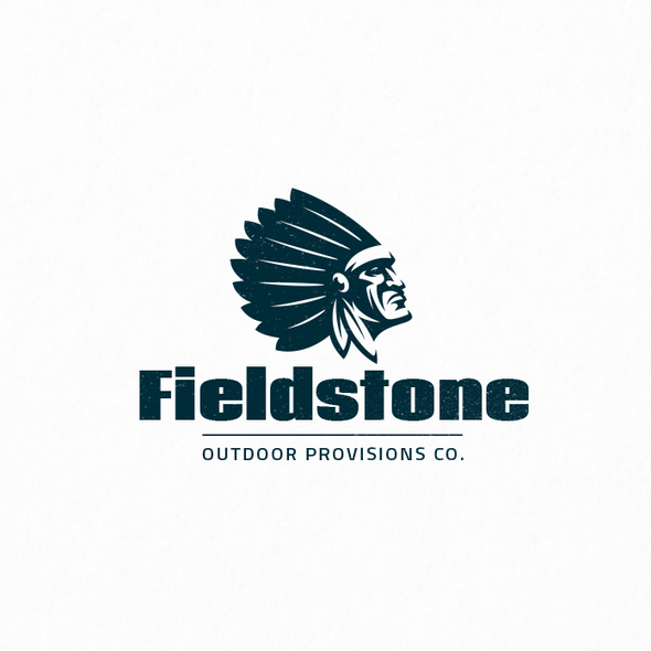 Chief design with the title 'Fieldstone'