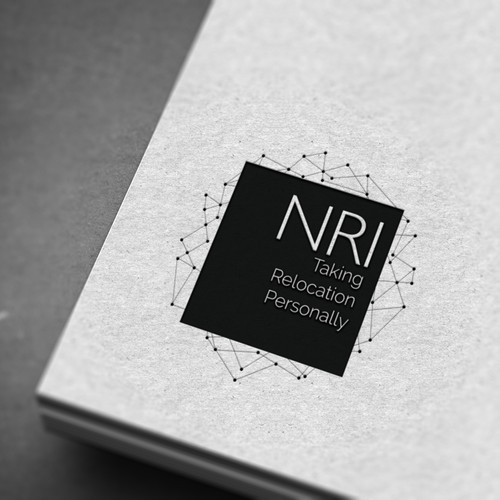 Corporate identity design with the title 'corporate logo'