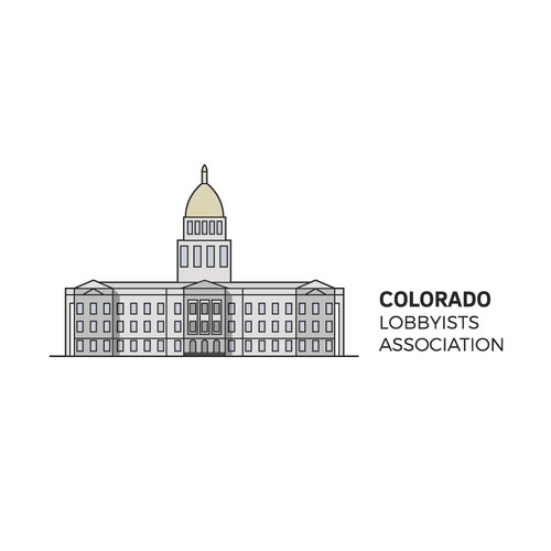 Denver logo with the title 'Logo for Colorado Lobbyists Association'