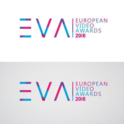 Slim logo with the title 'European Video Awards 2016'
