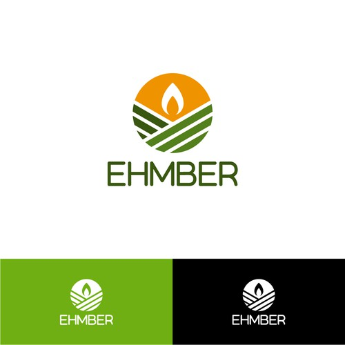 Modernist design with the title 'EHMBER'