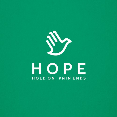 Love logo with the title 'Novel, Timeless Logo for a Mental Health Nonprofit Organization'