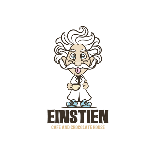 Funny brand with the title 'Einstein '