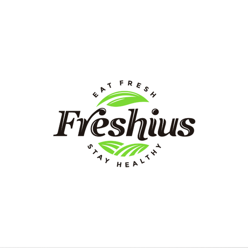 Grocery store design with the title 'Logo concept for grocery products'