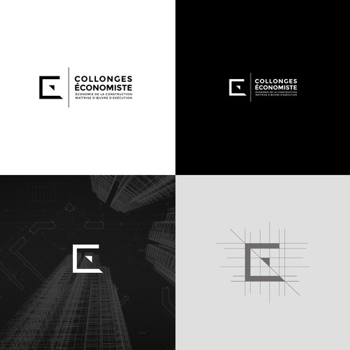 French brand with the title 'Collonges Economiste - Logo'